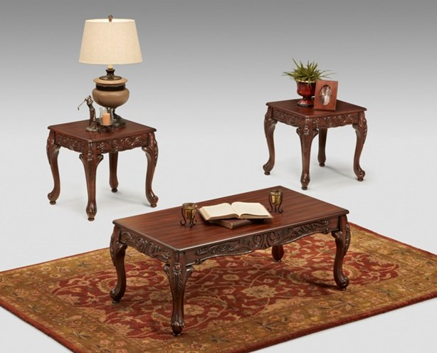 Ashanti 3 Piece Table Set 3 Piece End Table Set Baton Rouge Furniture