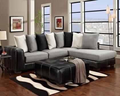 Idol Steel Sectional - Sectional Sofas