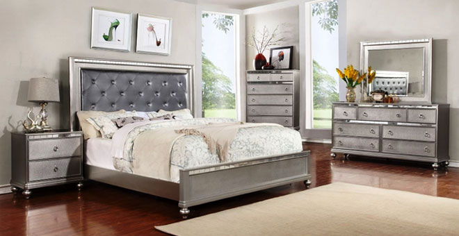 Perfect Platinum QueenBed